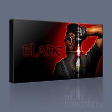 Blade vampire toile art imprimé awesome wesley snipes emblématique photo art williams