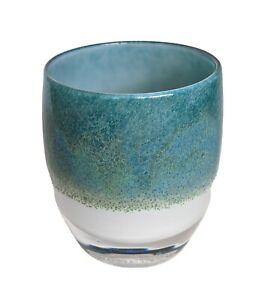 Mother Earth glassybaby~Glimmer~Blue, Green, White~Hard to Find~Stunning!