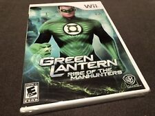 Green Lantern: Rise of the Manhunters (Nintendo Wii, 2011) New