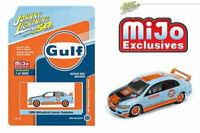 Johnny Lightning 1/64 Mitsubishi Lancer Evolution 2004 Gulf Diecast CarJLCP7203