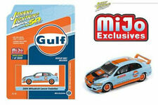 Johnny Lightning 1/64 Mitsubishi Lancer Evolution 2004 Gulf Diecast CarJLCP7203