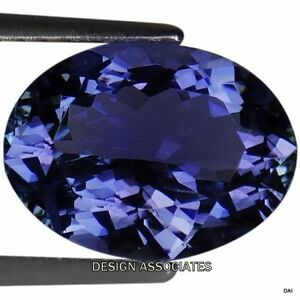 RS AAA 474.50 cts Natural 3 Strand Untreated BLUE TANZANITE perles collier