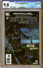 DETECTIVE COMICS ANNUAL #12 (2011) CGC 9.8 NM/M Stanley ARTGERM Lau COVER