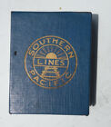 Southern Pacific Lines Playing Cards Souvenir Picture Playing Cards w/ Booklet!