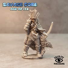 Lucid Eye Age of Ice Amazon Boss Seratra the Foundling IAB004 Savage Core 28mm