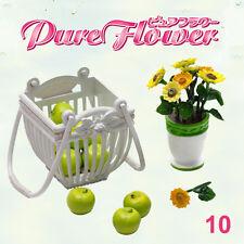 Rare! Re-ment Miniature Pure Flower No.10 Sunflower Green Apple - Special Color