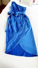 Ted Baker GABIE one shoulder drape midi dress, size 4 UK 14  🌈