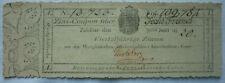 Zinscoupon 6 Francs Westphälische Reichsschulden-Amortisations-Casse 1820