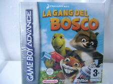 La Gang del Bosco Nintendo Game Boy Advance ITA