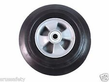 "Hand Truck Tire w/ Offset Hub Semi Pneumatic 10"" Wheel with 5/8"" ID-WSEPN-10"