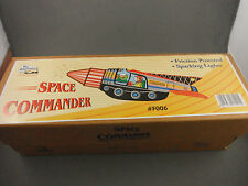 Tin Toy - Space Commander Rocket Friction