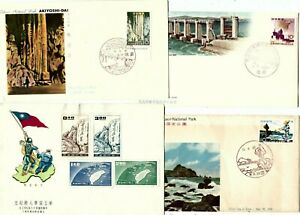 G20 Taiwan china R.O.c. first day cover FDC map national parks (4) caves