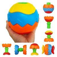 Take Apart Magic Ball Shape Toy Puzzle Assemble Disassemble Creative Colours Kid