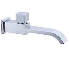 Brass Faucet Spout Filler Chrome Bathtub Shower Bath Tub Spout With switch