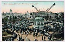 CORONATION EXHIBITION - 1911 - LONDON - Elite Gardens - Flip Flap
