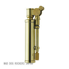 Steampunk Oil Lighter Japanese Duke3 Made in JAPAN Brass F/S Stylish Design Rare