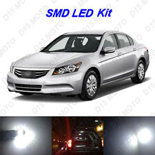 12 x Ultra White SMD LED interior Lights Kit for 2003-2012 Honda Accord