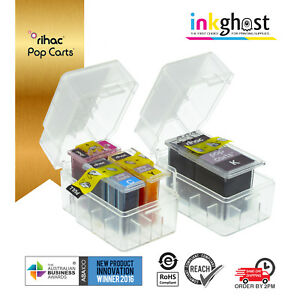Rihac Pop Carts for Canon PG-640 CL-641 MG3660 TS5160 smart ink cartridge refill