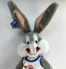 "Bugs Bunny Space Jam Plush Tune Squad 1996 Warner Brothers Applause 22"" Figure"