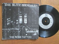 """The Blitz Brothers – The Rose Tattoo - UK 7"""" 1980"""