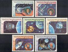Laos 1984 Space/Luna 2/Kepler/Copernicus/Newton/Verne/Sputnik/Astronomy 7v b7996