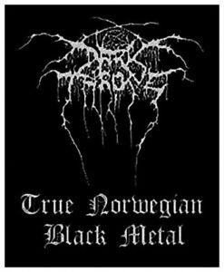 DARKTHRONE - True Norweigan Black Metal Aufnäher Patch Official Merchandise