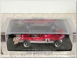 1/43 Lotus 56B Race of Champions 1971 E.Fittipaldi #6, Spark S1763