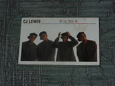 CJ Lewis:  R to the A    Cassingle   NEW EX SHOP STOCK