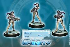 Infinity Corvus Belli Asuras Spitfire Aleph Army blister metal new