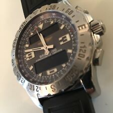 BREITLING AIRWOLF A78363. Rubber Strap. Box and Papers