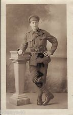 WW1 Soldier 6th London Regiment or KRRC Kings Royal Rifle Corps
