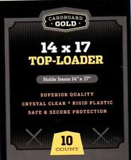 (100) Cbg 14X17 Photo Image or Print Toploader Storage 14 X 17 Display Holders