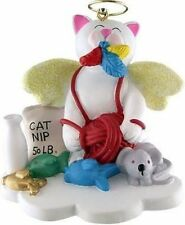 MY CAT KITTY WHITE  IS AN ANGEL ORNAMENT GIFT FROM HEAVEN GOD CHRISTMAS GIFT
