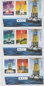 Jersey 2003 Lighthouses, 2nd Series, MNH (6)