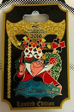 2016 WDW Disney Not so Scary Halloween Party Queen of Hearts LE