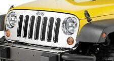 2007-2013 Jeep Wrangler Chrome Grille-OEM Mopar