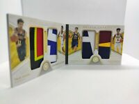 💲 INVEST 💲 2018 Opulence 💎 TRAE YOUNG 💎 Quad Rookie Patch Booklet 7/9 RARE