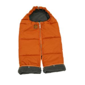 Red Castle Baby Winter Warming Suit - Mini Combi Zip - Orange