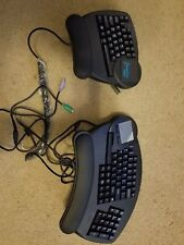 Kinesis Evolution Ergo ERGONOMIC CHAIR MOUNT KEYBOARD KB410PC - Extremely RARE