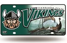 Cleveland State Vikings Logo NCAA 12x6 Auto Metal License Plate Tag CAR TRUCK
