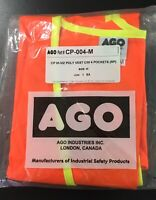 Canadian Pacific (Railway) Running Trades High Visibility Vest Cdr.Egr.Size Med.