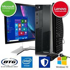 "Lenovo Desktop Computer Intel Core i5 Windows 10 PC 4GB RAM 500GB HDD 19"" HD LCD"