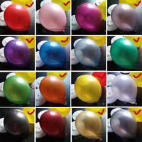 "EXTRA THICK LONG LASTING 12 "" LATEX PEARL BALLOONS WITH 3.2 G (HELIUM AND AIR)"