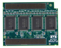 HP Matrox 4MB 50NS WRAM ACC MIL2 Memory D5487A 201608-B-01 / MIL2/MOD4HP