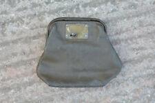 Vintage old Leather Barclays Bank Night Safe bag / purse wallet - FREE DELIVERY
