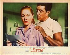 LIZZIE original 1957 lobby card ELEANOR PARKER/RIC ROMAN 11x14 movie poster