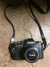 Konica Autoreflex TC 400mm includes telescopic lens, flash, camera bag