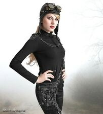 Gothic Punk Rave Steampunk Industrial Military Post Apocalyptic Waistbag Tasche