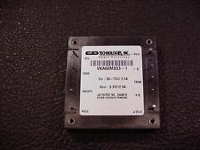 DC-to-DC Converter 48V 2.A in Single out 3.V 12A C&D Technologies VKA60MS03-1