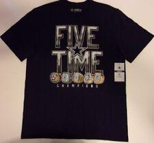 New Dallas Cowboys NFL Football men's Large T-Shirt 5 Rings Super Bowl Champions